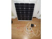 40 Watt solar panel complete with regulator, ideal for trickle charging your battery