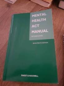 Mental health act manual