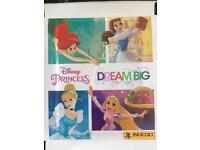 Dream big princess stickers