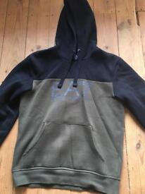 Men's small genuine Armani hoodie