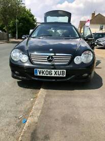 MERCEDES KOMPRESSOR C180 REFURBED ALLOYS ONLY 50000 MILES