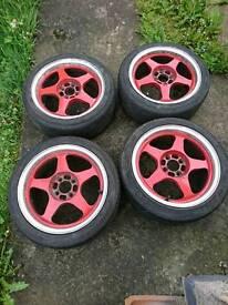 For sale 16inch rota slipstreams wheels