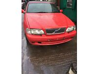 2001 Volvo C70 T5 Convertible Petrol 2.4L Red BREAKING FOR SPARES