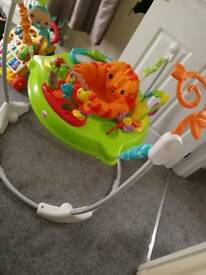 Rainforest jumperoo great toy rrp £100