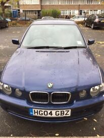 BMW/SERIES 3/BLUE/FULL SERVICE HISTORY with bmw/FULL YEAR MOT/VERY CLEAN IN AND OUT/LOW MILEAGE