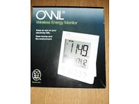 Owl Wireless Energy Monitor (BNIB)