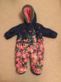 Mothercare snowsuit in excellent condition. 3-6months