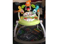 £50 Fisher Price Spacesaver Jumperoo NEW BOXED