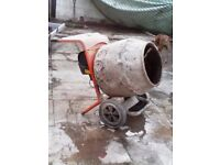 Bella 110 cement mixer