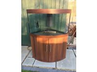 For sale Juwel 180 aquarium with corner cabinet