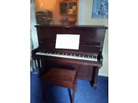 Free Upright Piano and Stool