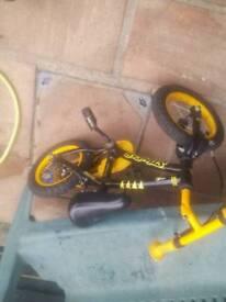 boys apollo stinger pedal bike