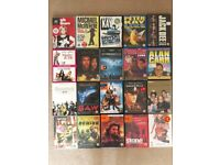 Collection of 34 DVD's and 17 Blu Ray's - Film, comedy etc.