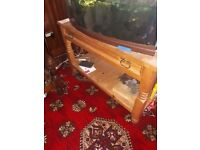 Bargain Bargain 2 x console style tables plus matching wine rack and side table/cupboard