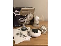 Tommee Tippee electric and manual breast pump and bottles