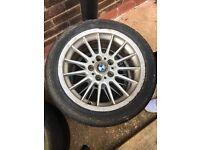"4 x 17"" BMW Alpina Alloy wheels"