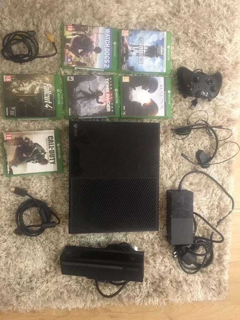 Xbox One 500gb With Kinect Six Games And Tv Tuner In Hendon