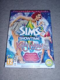 BRAND NEW THE SIMS 3 - SHOWTIME- KATY PERRY EXPANSION PACK MAC / PC GAME