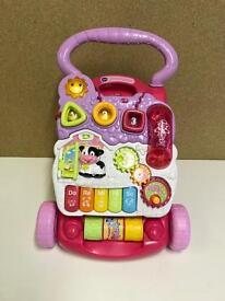 Mothercare Playmat & Vtech First Steps Baby Walker