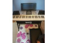 Rock jam keyboard.
