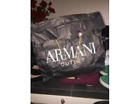 REAL Armani woman's bag from Paris
