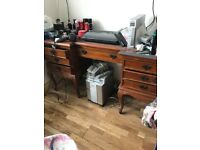 Dressing table solid wood
