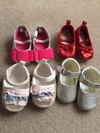 Baby girl shoes 3-6 month