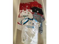 Liverpool football tops size xl