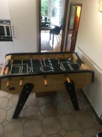 Foosball table solid wood