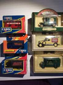Collectable Corgi Cars & Days Gone Cars