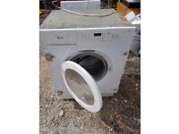 Whirpool integrated washer dryer