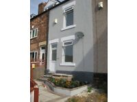 nice terraced house, 3 bedrooms. inspection essential,no chain,ready to move into or rental.