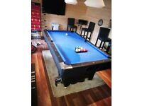 6ft pool table for sale no cues just the table and full set of balls. £100 pick up only.