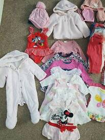 Baby girl clothes 0/9 months