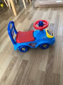 Paw Patrol ride on sit and ride