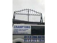 Gates and railings made to measure deliverd and fitted