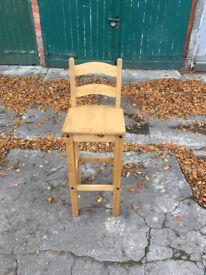 Mercers Furniture® Corona Mexican Pine Bar Stool