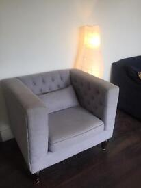 Designer Armchair from MADE (REDUCED FOR QUICK SALE)