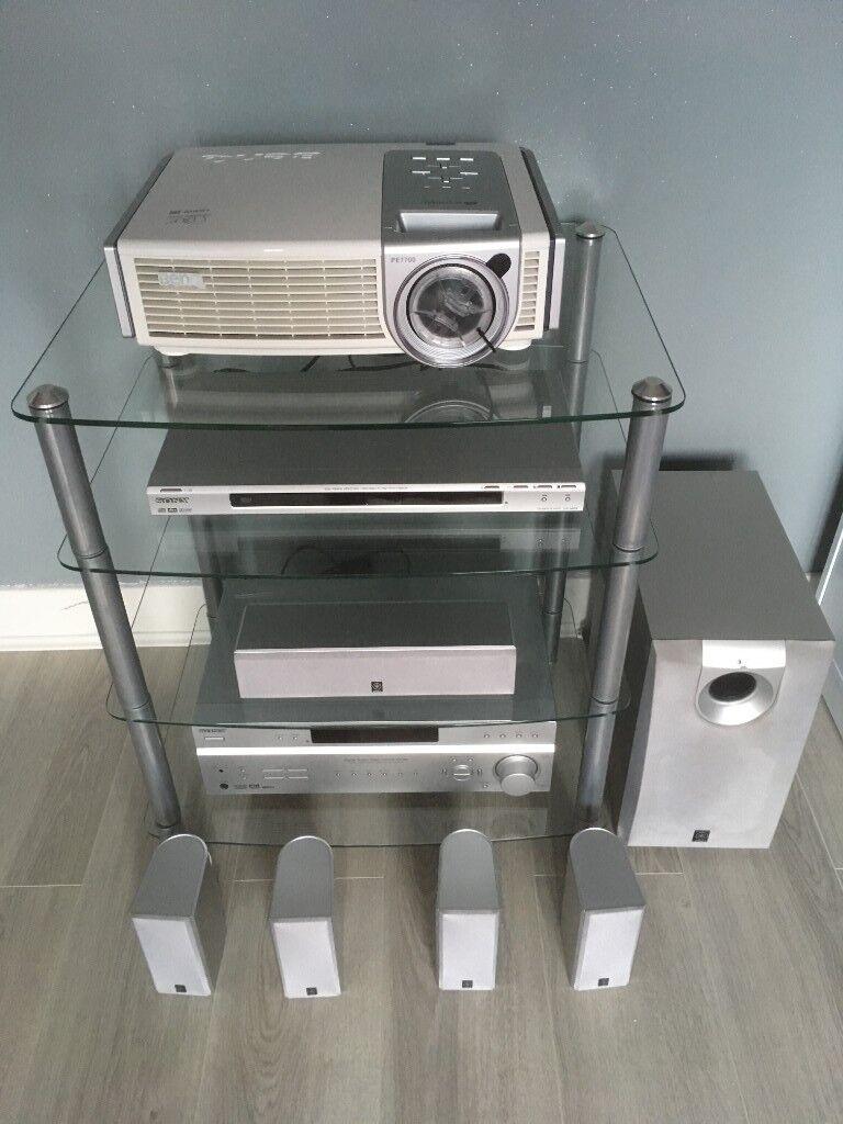 Job Lot Digital Projector AV Receiver Home Cinema 51 Speakers