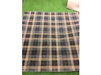 Tartan rug for sale