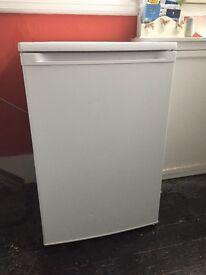 Undercounted fridge, mini freezer.