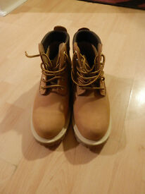 ladies tan leather ankle boots size 6