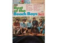 Beach boys vinyl/best of lp/pop record/pet sounds