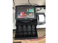Epos till protech with lifetime software, cash drawer and receipt printer.