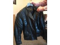 Real leather Biking Jacket