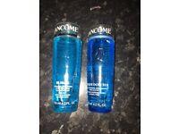 Lancôme make up cleanser and toner