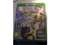 Fifa 17 game for xbox 1, includes 20% off addidas purchases