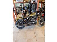 2017 Harley Davidson 883 Iron only 253 miles from new
