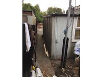 Concrete garage for free Shutter not included