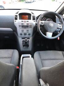 Vauxhall zafira SRI 61 plate
